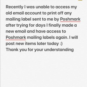 New email